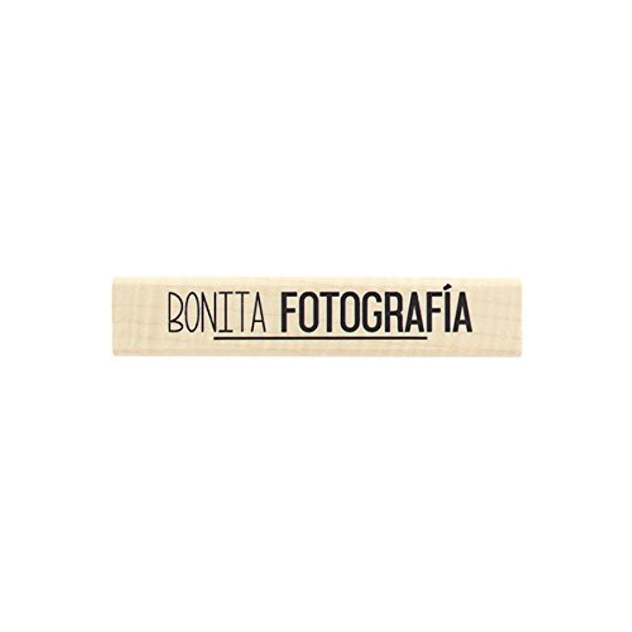Florilèges Bonita Design Stamp fotografia, Wood, 2?x 10?x 2,5?cm