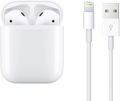 Auriculares Inalámbricos, Auriculares Bluetooth Deportivos 5.0 con Micrófono,Carga Rápida Mini Portátil Caja de Carga,IPX5 Impermeable,Reproducción 24 Horas,para iPhone/Samsung/Android AirPods Pro
