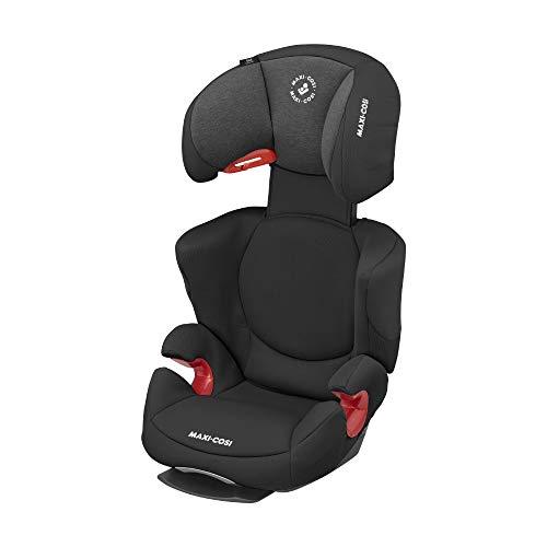 Maxi-Cosi Rodi AirProtect (AP) Kindersitz, Mitwachsender Gruppe 2/3 Autositz (ca.15-36 kg) mit Ruheposition und Optimalem Seitenaufprallschutz, Nutzbar ab ca. 3,5 bis 12 Jahren, Authentic Black