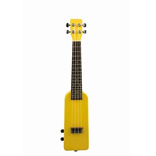 ZAGO Guitarra acustica 4 Cuerdas de Madera Maciza electrónico Ukulele con Cuerdas de Nylon de 6,35 mm de Salida de 23 Pulgadas de diseño de la Botella para Principiantes/niños