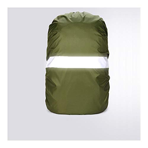 HUYANJUN, Rain Cover Backpack Reflective 20L 35L 40L 50L 60L Waterproof Bag Camo Tactical Outdoor Camping Hiking Climbing Dust Raincover (Color : Army green, Size : 30 40L)