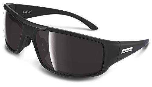 9080ffaa0f NEWPORT POLARIZED Sunglasses ANGLER Matte Black   Polarized Grey Lens