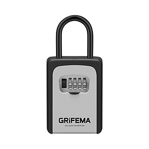GRIFEMA - Caja de Cerradura, Armarios de llaves con Gancho [Exclusivo en Amazon]