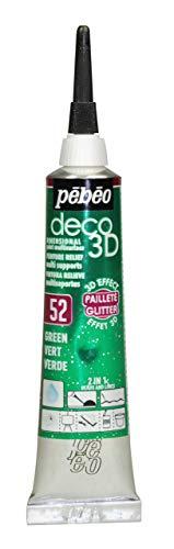 Pébéo Deco 3d glitter 20ml verde