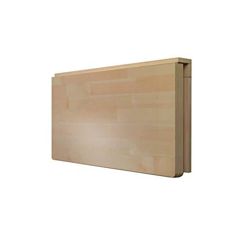 Multi-Funzione Piega Desk, Scrivania A Muro in Legno Massello Piegare in Giù Spazio-Risparmio Simple Kitchen Workbench Desk Flottante - Stabile E Resistente(Size:70×50cm)