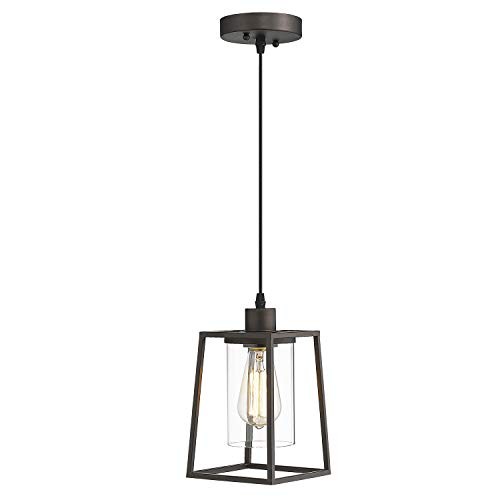 Emliviar Kitchen Pendant Light, Mini Hanging Light in Oil...