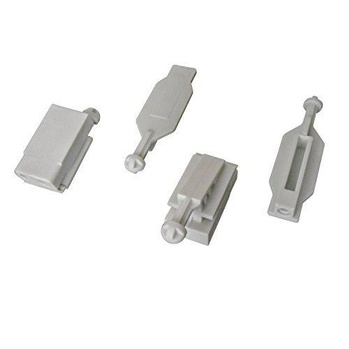 Myba-S Lot de 2 kits de clips de fixation de phare/réflecteur halogène ou xénon (pour phare droit & phare gauche)