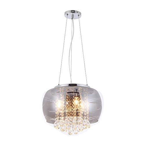 Hanglamp kristal DELTA 3xE14/40W/230V