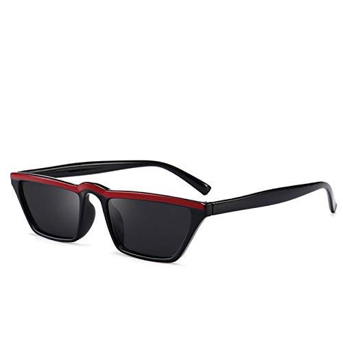 HAOMAO Diseñador de la Marca Marco Clásico Hipster Retro Ojo de Gato Caja Estrecha Gafas de Sol Uv400 C5