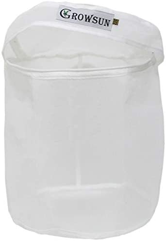 Growsun 5 Gallon 220 Micron Bubble Zipper Bag for Extracting Washing Machine - Herbal Extractor Durable Filter Bag