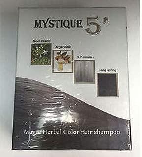 Mystique 5 Magic hair shampoo (Dark Brown)