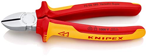 Knipex KNIPEX 1000V-isoliert  180 mm  70 Bild
