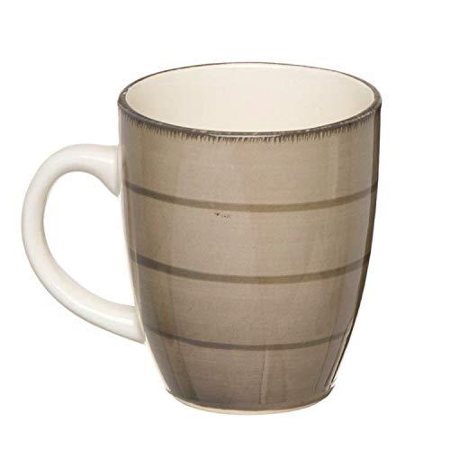 Vidal Regalos Mug Ceramica 360 ml cm Beige