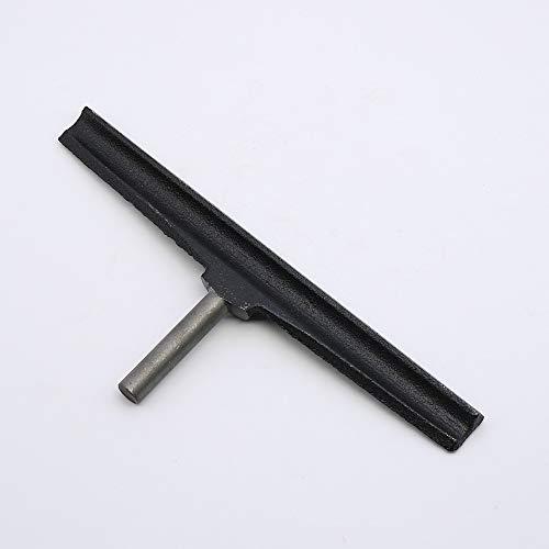 Barra de soporte para herramientas de torno, de hierro fundido de 11,8 pulgadas, para herramienta de torneado