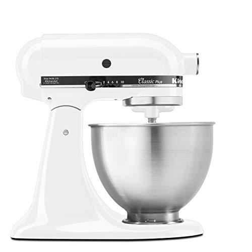 KitchenAid Stand Mixer, White - graduation college gifts for him idea