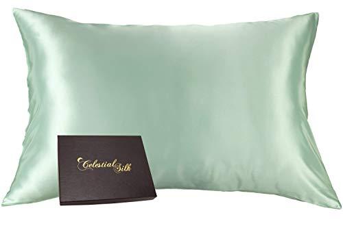 Celestial Silk 100% Silk Pillowcase for Hair Zippered Luxury 25 Momme...