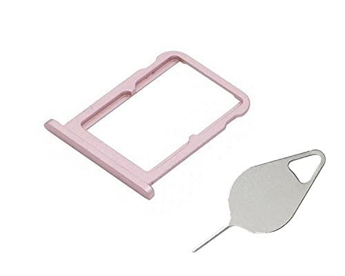 OnlyTech - Soporte de tarjeta SIM doble y tarjeta de memoria Micro SD de Xiaomi Mi A2 rosa + herramienta de extracción