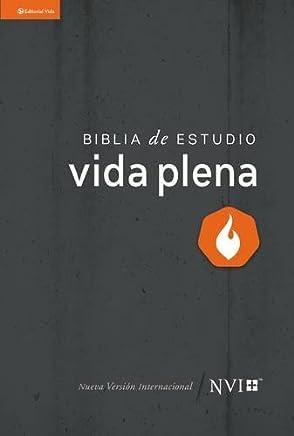 NVI Biblia de estudio vida plena