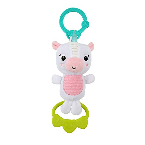 Bright Starts Tug Tunes On-The-Go Take-Along Toy - Unicorn, Ages Newborn +