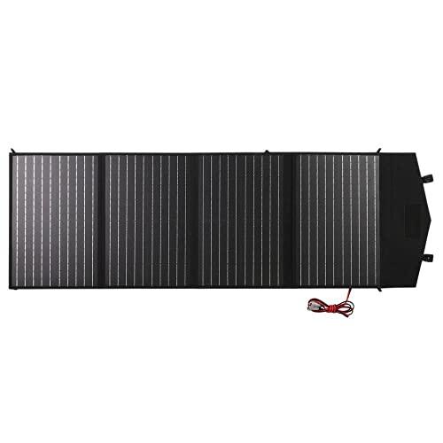 N//B Cargador Solar, Panel Solar Cargador Solar Portátil De 60 Vatios/150 Vatios Cargador Solar Impermeable Plegable para Exteriores con Conexión USB - Todos Los Teléfonos Móviles,150W