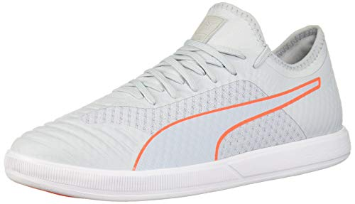 PUMA Mens 365 Concrete Lite Futsal Shoe Grey Dawn White nrgy Red 9 UK