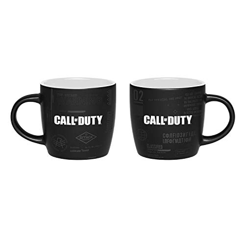 Call of Duty: Cold War Two Colored Mug 'Top Secret Documents'