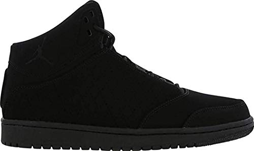 Nike Junior Jordan 1 Flight 5 Prem BG Cuir Noir Baskets 881440 010