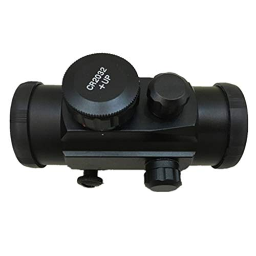 1x30 Crossbow Scope, Classical 1x30 Red Dot Scope, Red and Green Illuminated Scope, Compact Hunting Scope