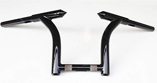 "FMB MHBM10FMB 10"" Mini Hellbent Bars Custom Ape hangers For Harley Road Glide, Road King"