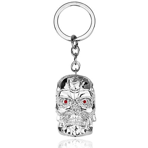 NHP Environs du Film, Pendentif Porte-clés tête de Mort Terminator(Color:B)