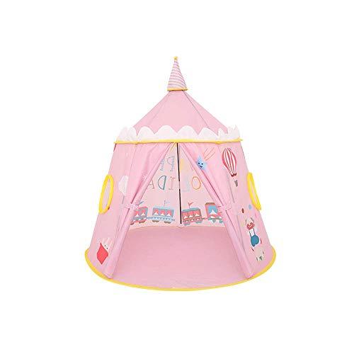 FEE-ZC Magic Kids Play Tent Cosmic Space Tents Yurt Teepee Child Playhouse Viene con una Manta a Prueba de Humedad para Interiores y Exteriores, jardín, Sala de Juegos para niños,