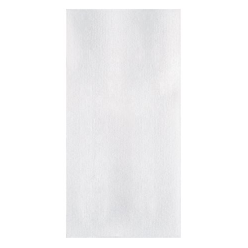 """Hoffmaster 856465 Linen-Like Guest Towel, 1/6 Fold, 17"""" Length x 8"""" Width, White (Case of 600)"""