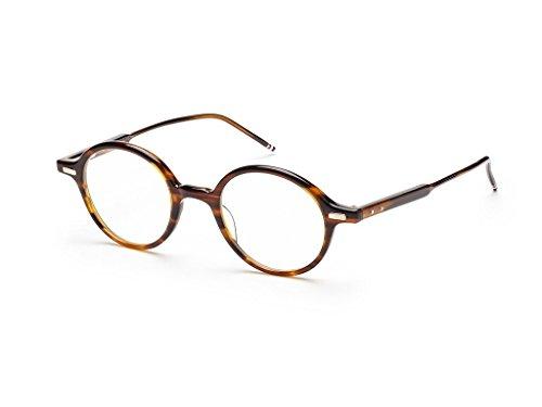 Thom Browne TB-407-B-WLT-46 Eyeglasses Tortoise Brown w/Demo Lens 46mm