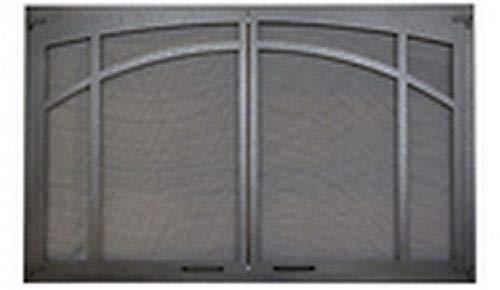 Lowest Price! Superior ASD4224-TI Twin-Pane Arched Screen Door - Textured Iron