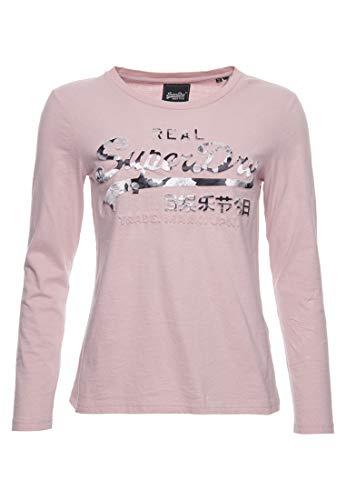 Superdry Damen Vintage Logo Photo Rose Oberteil Zart Pink 38