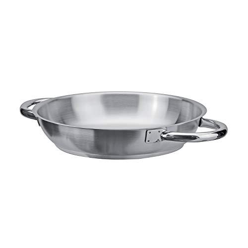 PIAZZA Tegame in Acciaio Inox - Collezione Chef - Diametro 50Cm