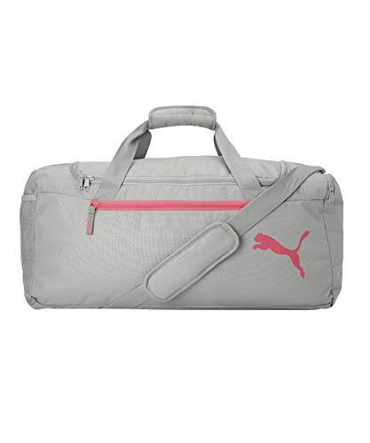 PUMA Fundamentals Sports Bag M Sporttasche, Grau-Limestone, Einheitsgröße