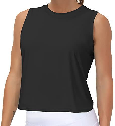 Ice Silk Workout Tops for Women Qui…