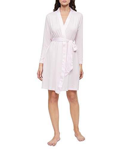 Calvin Klein Damen Modal Satin Lounge and Sleep Robe Pyjamaunterteil, Pearly Pink, Medium-Large