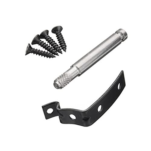 JIAYIN Toto Department Store Snipped Repair Black Set Soporte Guante Guante Lid Hinge Snape Snape Repare Kit Fit para Audi A4 S4 RS4 B6 B7 8E (Color : Black)