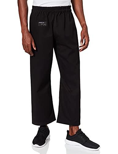 DEPICE Pantalon de karaté, Noir, 400 g m² (12 oz) Taille 170 Noir - Noir