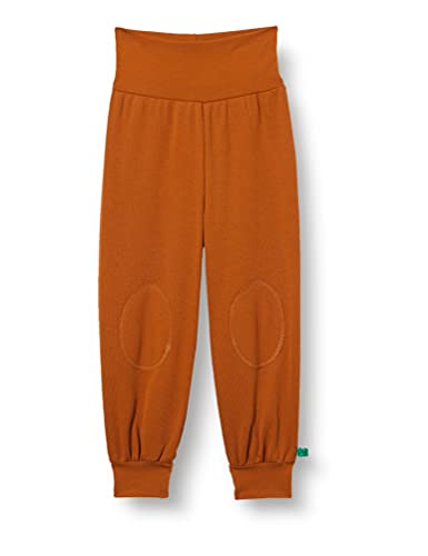 Fred's World by Green Cotton Unisex Baby Alfa Pants, Brown Pecan, 98