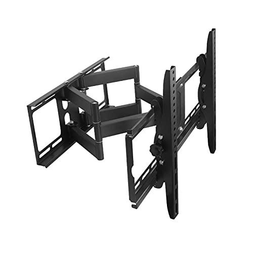 Seis-brazo plegable TELEVISOR Soporte completo movimiento de pared extensión de pared inclinación giratoria TELEVISOR Soporte para televisores de pantalla plana de 42-75 pulgadas, tiene hasta 198 libr