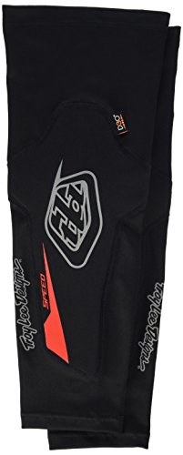 Troy Lee Designs Speed Adult Elbow Guard BMX Body Armor - Black / Medium/Large