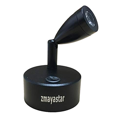 zmayastar 配線いらず 電池式 LEDスポットライト LED スポット ショーケース照明 天井照明 角度調節 電球色 SH-SD-001