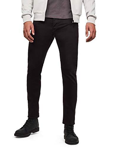 G-STAR RAW Herren Jeans D-staq 5-pkt slim AC, Black C348-990, 30W / 34L