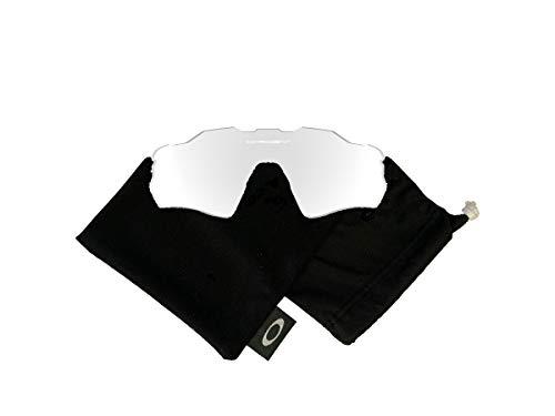 Oakley Original Radar EV Path OO9208 Replacement Lenses For Men For Women+BUNDLE with Oakley Microfiber Cloth Bag, Clear, 38