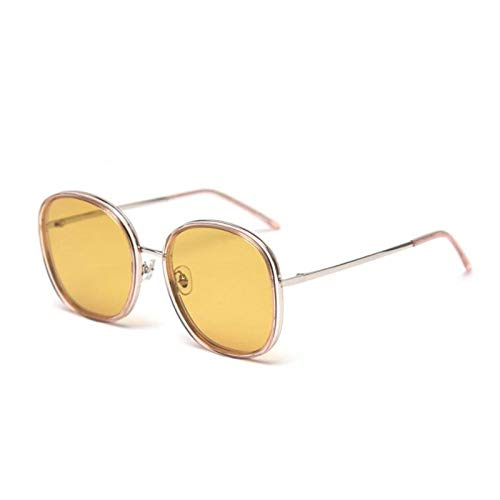 New Sunglasses Women's Polarizer with Small Face and Big Round Frame Glasses Sunglasses