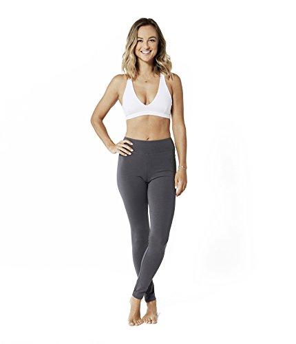 Lotuscrafts Mallas largas de Yoga para Mujer, algodón biológico - Comercio Justo y fabricación ecológica - pantalón de Yoga para Mujer - Mallas Deportivas para Mujer