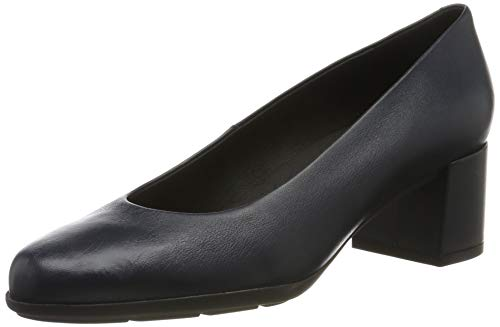 Geox Womens D New Annya Mid A Pump, Navy, 38,5 EU